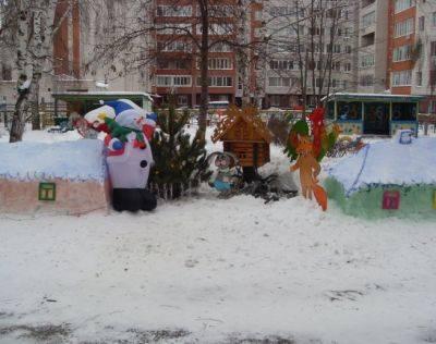 Сюжетная картинка о зиме