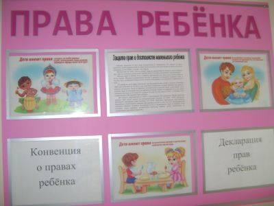 Саду в фойе детском оформление стен