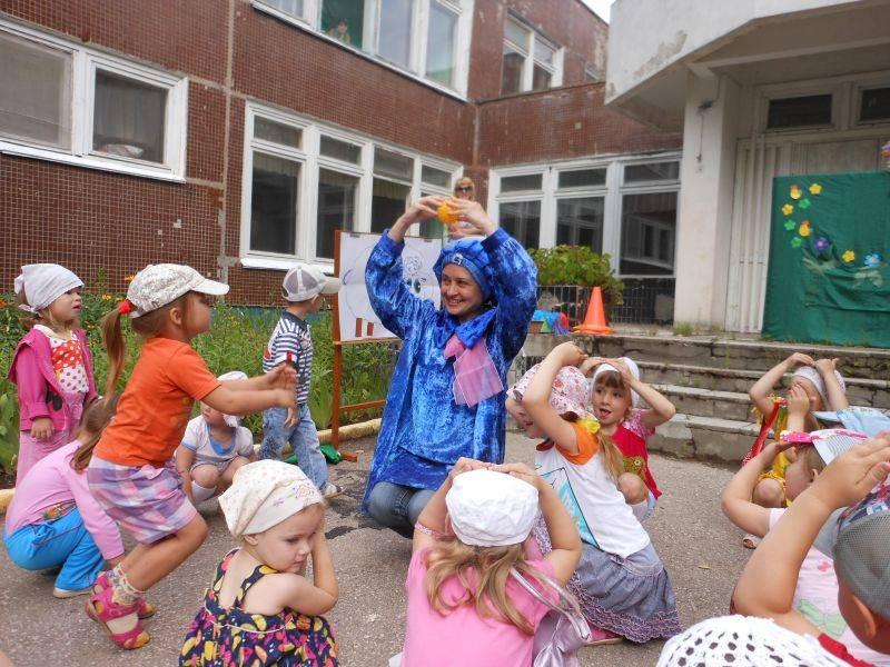 Сценарий летнего праздника в доу на улице